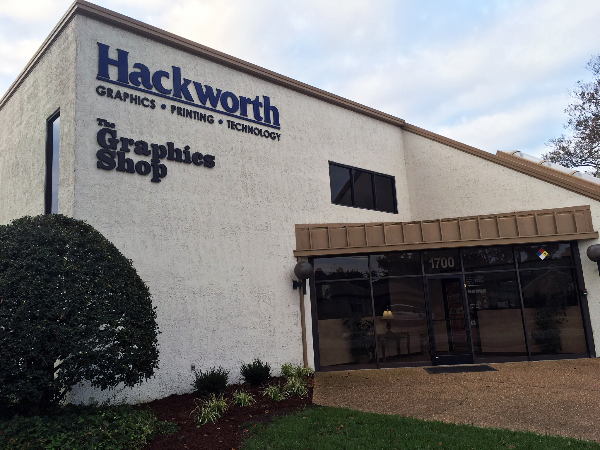 Hackworth Reprographics headquarters
